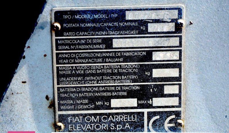 OM Muletto OM Fiat DI 70 C completo