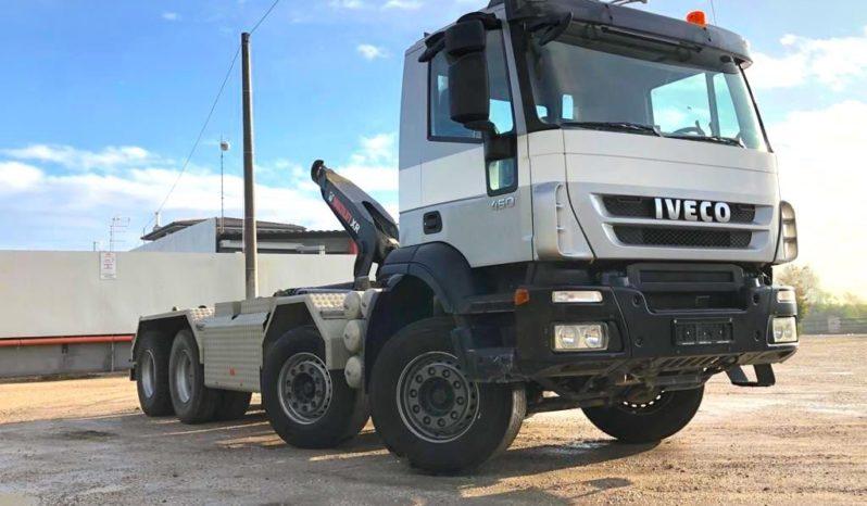 IVECO 340T45 TRAKKER SCARRABILE CON BARRA TELESCO completo