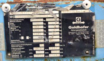 GOLDHOFER RIMORCHIO TRASPORTI ECCEZIONALI completo