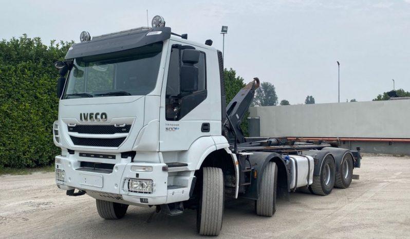 IVECO TRAKKER 500 SCARRABILE BALESTRATO ANTERIORE completo