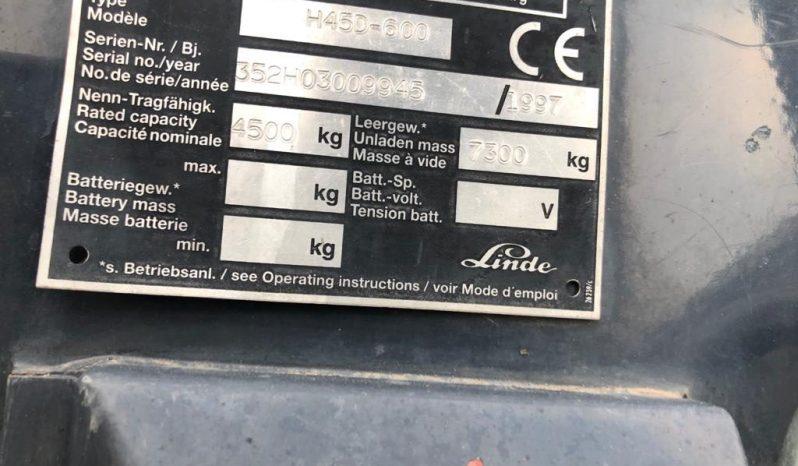 LINDE Muletto LINDE H45/600 completo